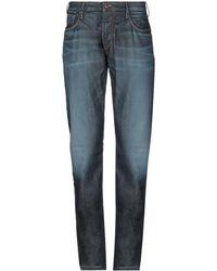 Emporio Armani - Pantalon en jean - Lyst