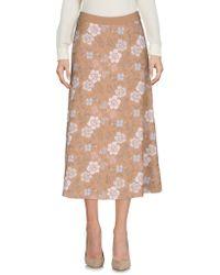 Tak.ori - 3/4 Length Skirt - Lyst
