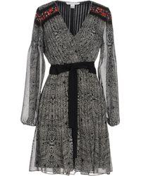 Diane von Furstenberg - Short Dress - Lyst