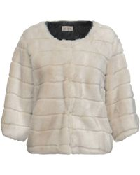 AT.P.CO - Faux Fur - Lyst
