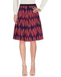 Maliparmi - Knee Length Skirt - Lyst