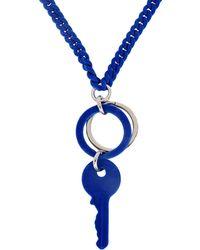 MM6 by Maison Martin Margiela - Key Necklace - Lyst
