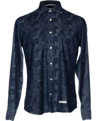 Tintoria Mattei 954 - Denim Shirt - Lyst