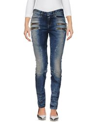 Faith Connexion - Denim Pants - Lyst