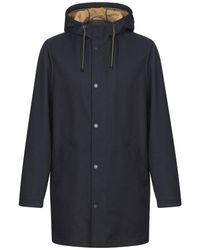 Trussardi Overcoat - Blue