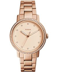 Fossil - Neely Analog Bracelet Watch - Lyst