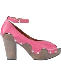 ee42fa6834 Lyst - Marc By Marc Jacobs Pretty Knot Neon Canvas Wedge Sandal in ...