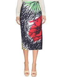 Boutique Moschino - 3/4 Length Skirt - Lyst
