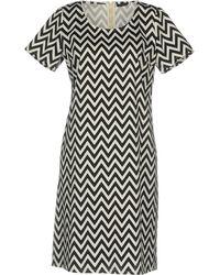 Scaglione - Short Dress - Lyst