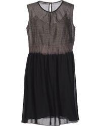 Blue Deep - Knee-length Dress - Lyst