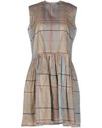 A.m. - Short Dress - Lyst
