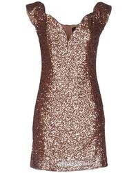 Rare London - Short Dress - Lyst