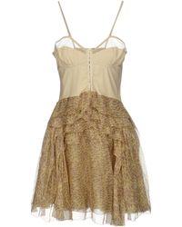 Bally - Short Dress - Lyst