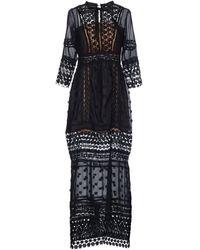 NJ COUTURE - Long Dress - Lyst
