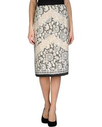 Clements Ribeiro - 3/4 Length Skirt - Lyst