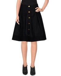 Violante Nessi - Knee Length Skirt - Lyst
