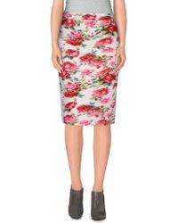 Frankie Morello - Knee Length Skirt - Lyst