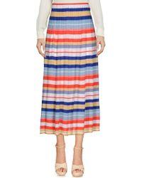 Cruciani - 3/4 Length Skirt - Lyst