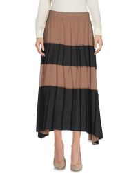 N.e.p.a.l. Downtown - 3/4 Length Skirt - Lyst