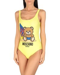 Moschino - Maillot une pièce - Lyst