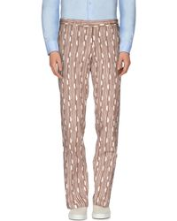 Piombo - Casual Trousers - Lyst