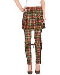 Jeremy Scott for adidas - Casual Trousers - Lyst