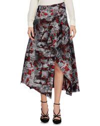 Aganovich | 3/4 Length Skirt | Lyst