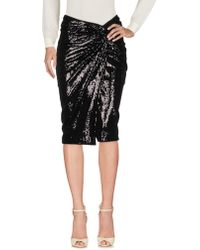 Donna Karan - Knee Length Skirt - Lyst