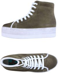 Jeffrey Campbell - Sneakers abotinadas - Lyst