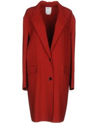 DKNY - Overcoat - Lyst