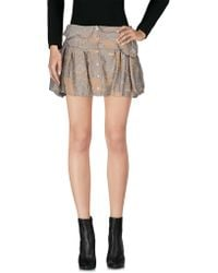 Anne Valerie Hash - Mini Skirt - Lyst