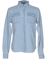 Bolongaro Trevor - Denim Shirt - Lyst