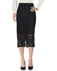 Scee By Twin-set - 3/4 Length Skirts - Lyst