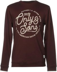 Only & Sons - Sweatshirts - Lyst