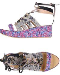MSGM - Sandals - Lyst