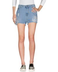 Ermanno Scervino - Denim Shorts - Lyst