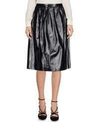 Twisty Parallel Universe - Knee Length Skirt - Lyst