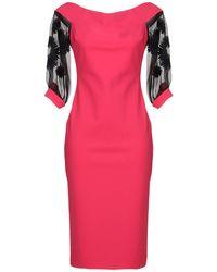 Chiara Boni - Knee-length Dress - Lyst