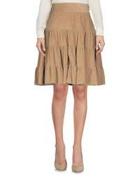 Nolita - Knee Length Skirt - Lyst