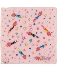 Boutique Moschino - Square Scarf - Lyst