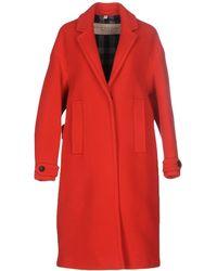 Burberry Brit - Coat - Lyst