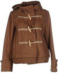 Historic - Wool-blend Duffle Coat - Lyst