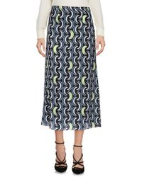 Miu Miu - 3/4 Length Skirt - Lyst