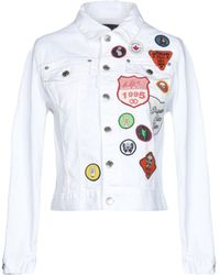 DSquared² - Cropped Denim Jacket - Lyst