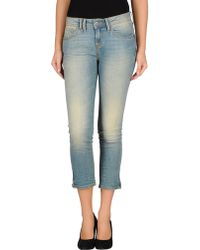 Bench - Denim Trousers - Lyst