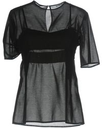 T By Alexander Wang - Blouse - Lyst