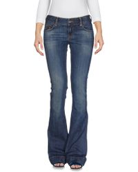 Roxy - Denim Trousers - Lyst