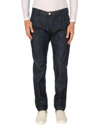 Yan Simmon - Denim Trousers - Lyst