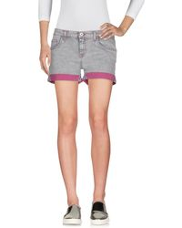 Trussardi - Denim Shorts - Lyst