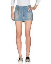 Jfour - Denim Skirt - Lyst